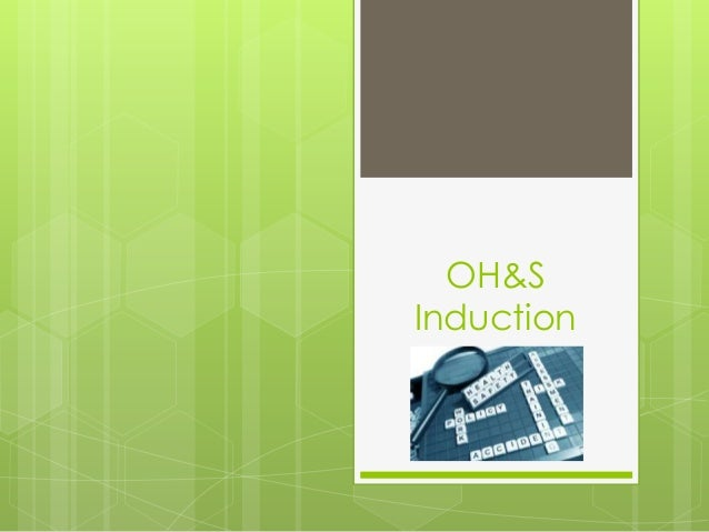 OH&S Induction