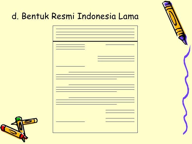 contoh surat resmi indonesia lama 600 tips