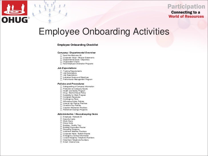 Ohug 2011 Automated Employee Onboarding And Offboarding By