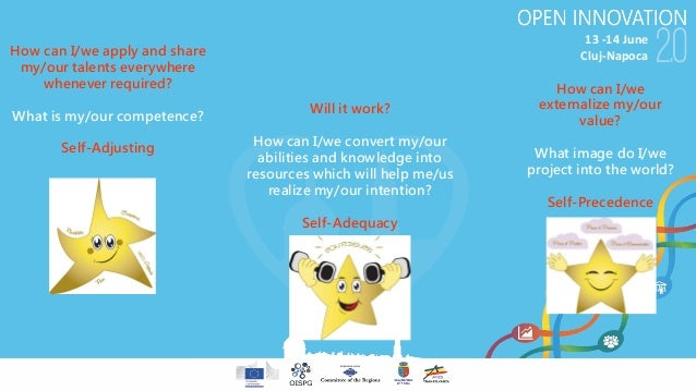 13-14June Cluj-NapocaHow can I/we apply and share my/our talents everywhere whenever required? What is my/our competence...