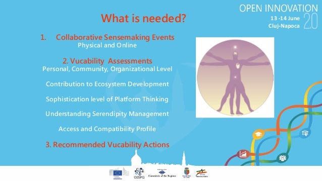 13-14June Cluj-Napoca 1. Collaborative Sensemaking Events Physical and Online 2. Vucability Assessments Personal, Commun...