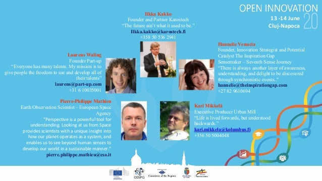 """13-14June Cluj-Napoca Laurens Waling Founder Part-up """"Everyone has many talents. My mission is to give people the freedo..."""