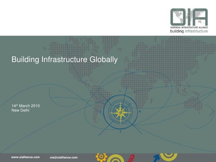 Building Infrastructure Globally<br />14thMarch 2010<br />New Delhi<br />
