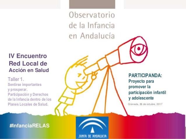 Participanda Proyecto Para Promover La Participación Infantil Y Adol