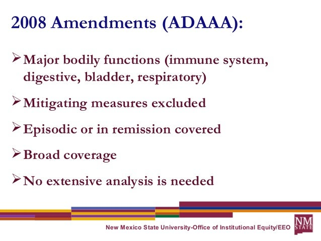 the americans with disability act (2008) and cerebral palsy essay Mental illness & the americans with disabilities act:  • ada amendments act: definition of disability  cerebral palsy • diabetes .
