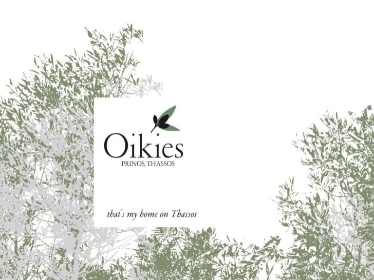 Oikies Thassos Island Greece
