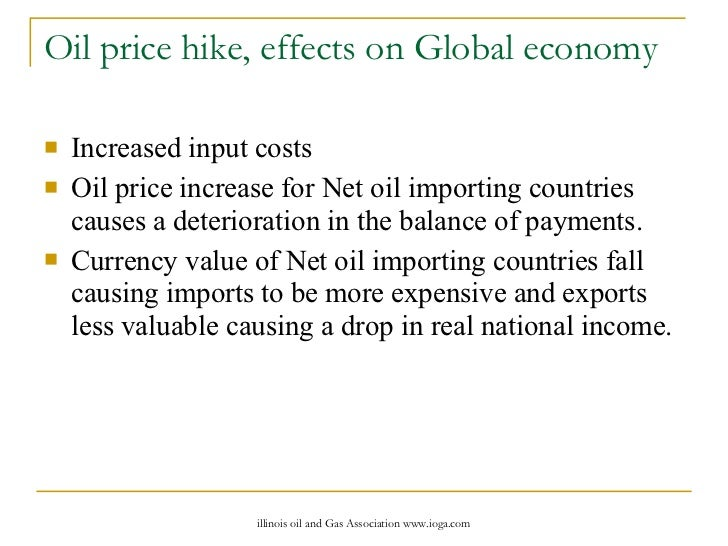 effects of an oil price shock on importing and exporting countries Growth effects of both oil price shocks and oil price volatility second, it controls for the fiscal  in oil exporting countries government finance is heavily dependent on the oil sector hence government revenues tend to be highly volatile, and will eventually dwindle and dry up in the future in addition, oil price shocks tend to be.