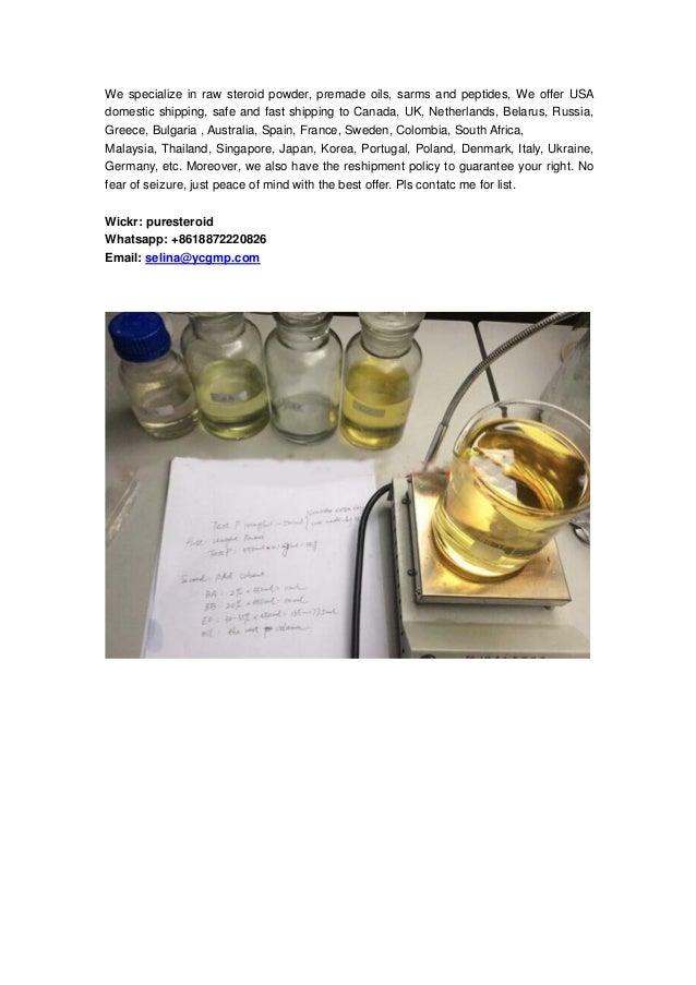 Domestic Raw Steroid Powder