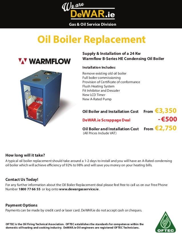 Oil Boiler Replacement Cost