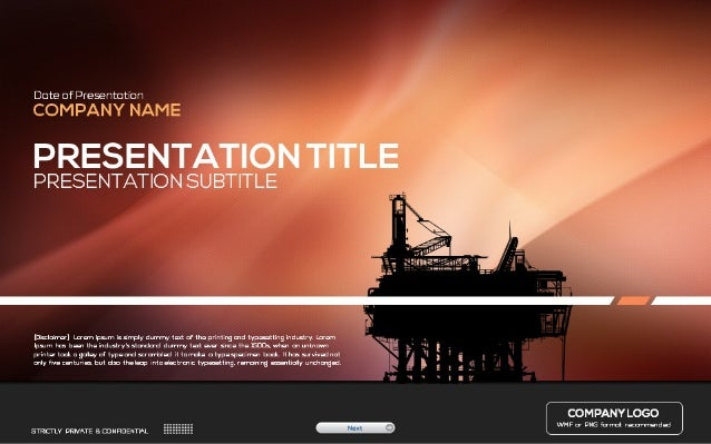 industry powerpoint template, Presentation templates