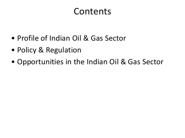 Oil and gas Slide 2