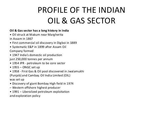 Oil and gas Slide 3
