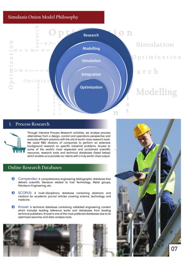 Simulanis Onion Model Philosophy  Research  1. Process Research  Through intensive Process Research activities,  we analys...