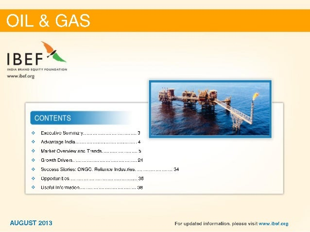 Indian Gas Sector is Expected to be Raised Around