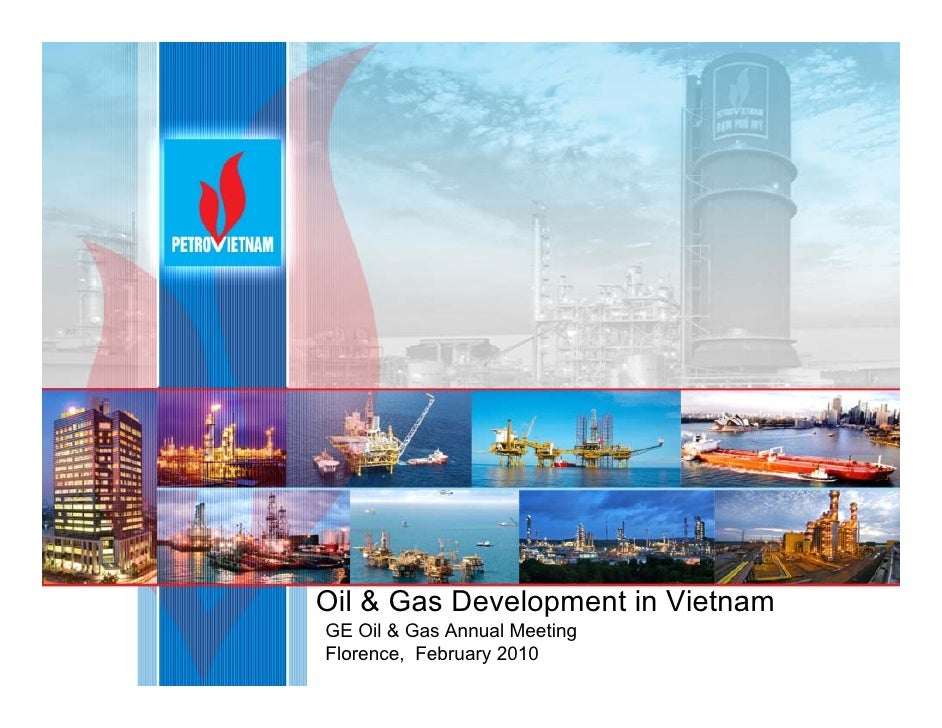 Oil & Gas Development in VietnamGE Oil & Gas Annual MeetingFlorence, February 2010