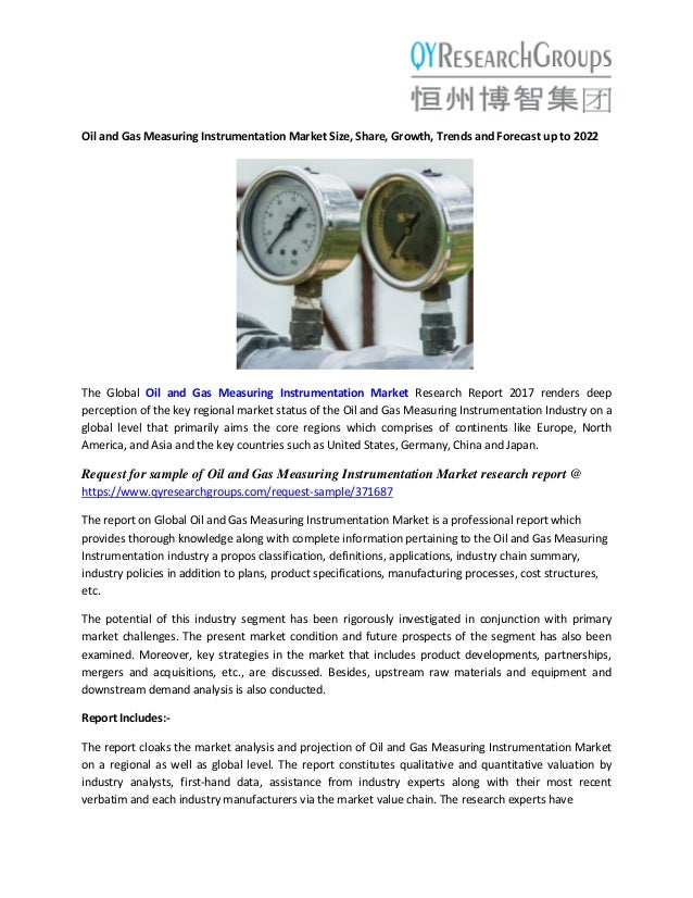 Oil And Gas Measuring Instruments : Oil and gas measuring instrumentation market abb