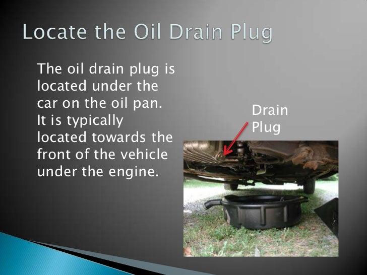 Oil Change Instructions