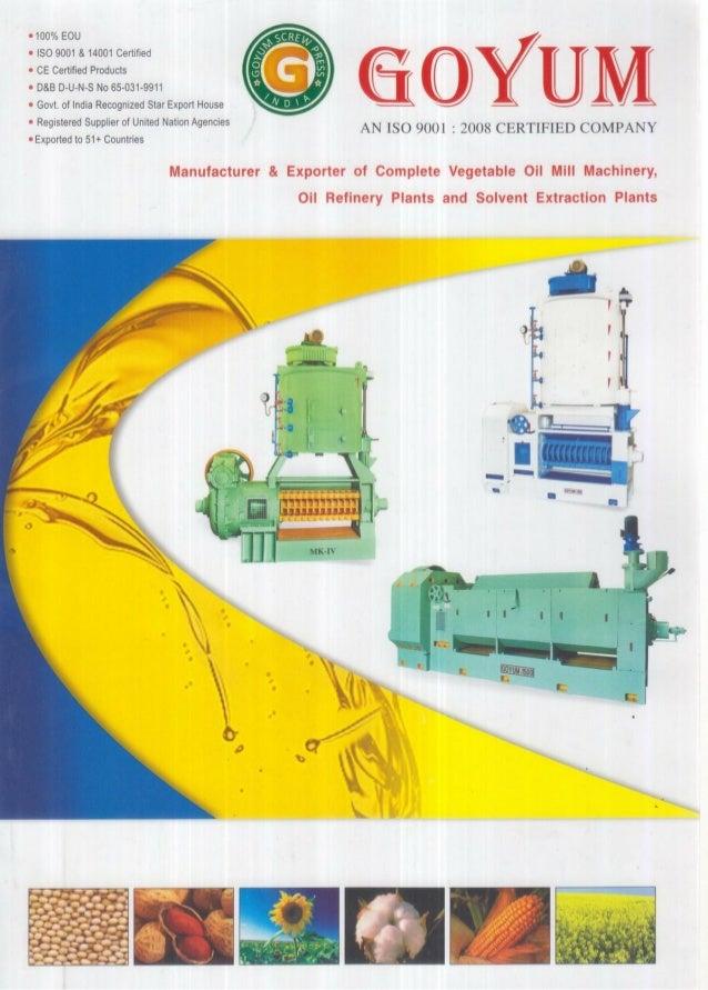 Goyum Screw Press, Ludhiana, Oil Expeller Machine
