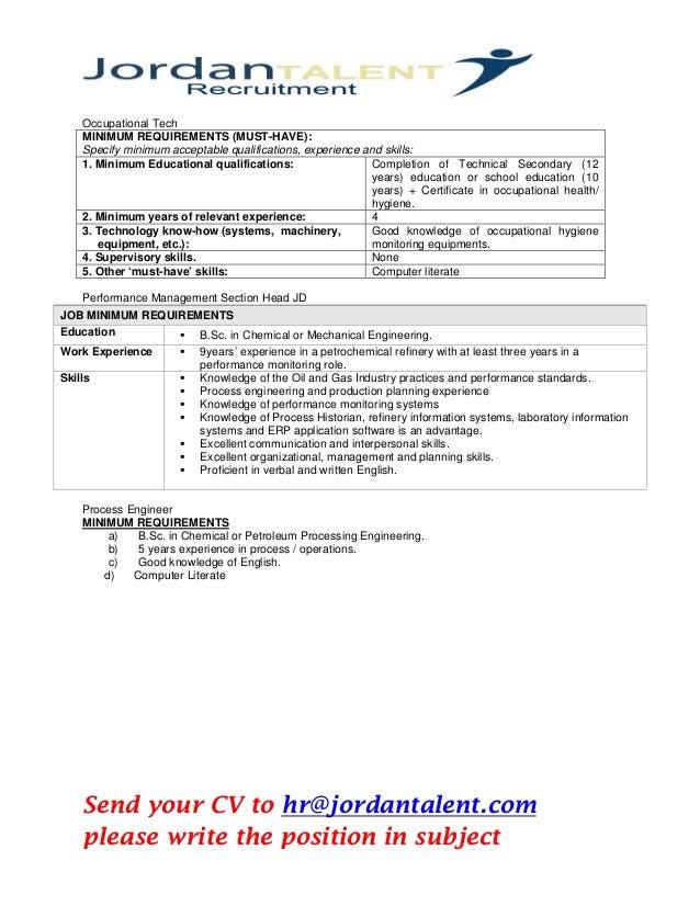 oil  u0026 gas industries vacancies in uae pdf 2