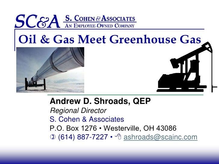 Oil & Gas Meet Greenhouse Gas