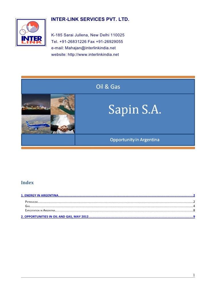INTER-LINK SERVICES PVT. LTD.                               K-185 Sarai Jullena, New Delhi 110025                         ...