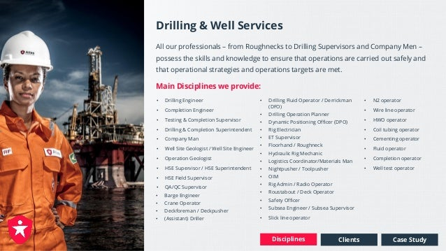 Complete Personnel Service Solution - Oil & Gas Upstream
