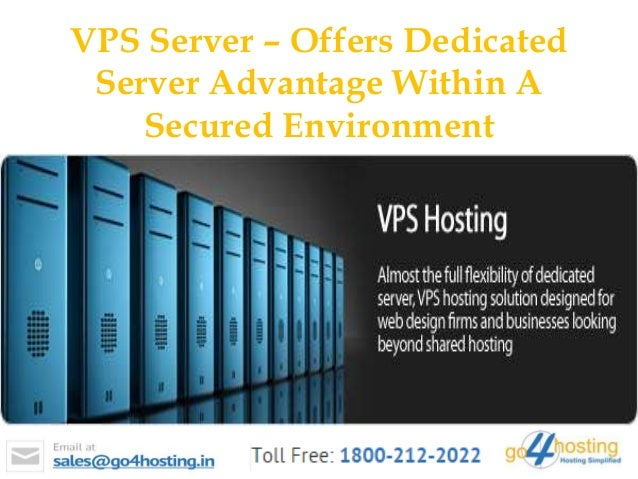 Dedicated server offers