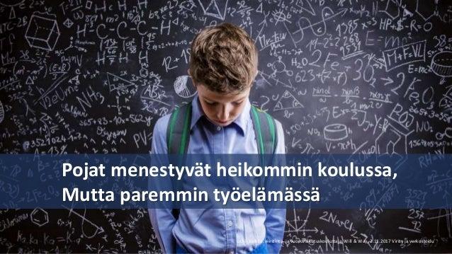 Virity ja Verkostoidu -seminaari 2.11.2017: Oili Valkila: Eihän ylitsesi kävellä? Slide 3