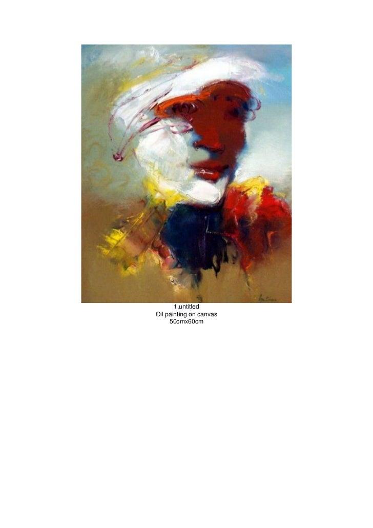 1.untitledOil painting on canvas     50cmx60cm