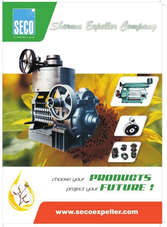 Sharma Expeller Company, Ludhiana, Oil Mill Machinery