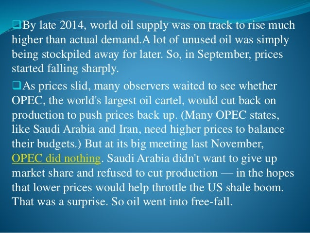 Oil is not only a physical commodity bought, sold and traded on global markets; it has also become an important financial...