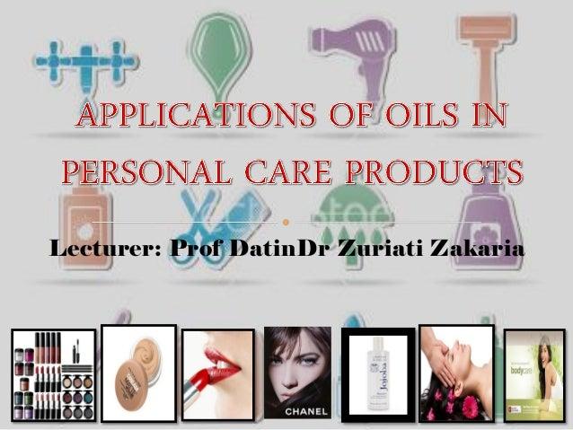 Lecturer: Prof DatinDr Zuriati Zakaria