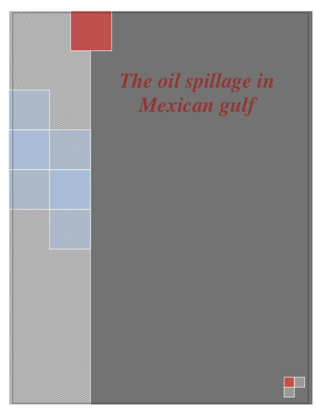 oil spillage in mexican gulf essay sample