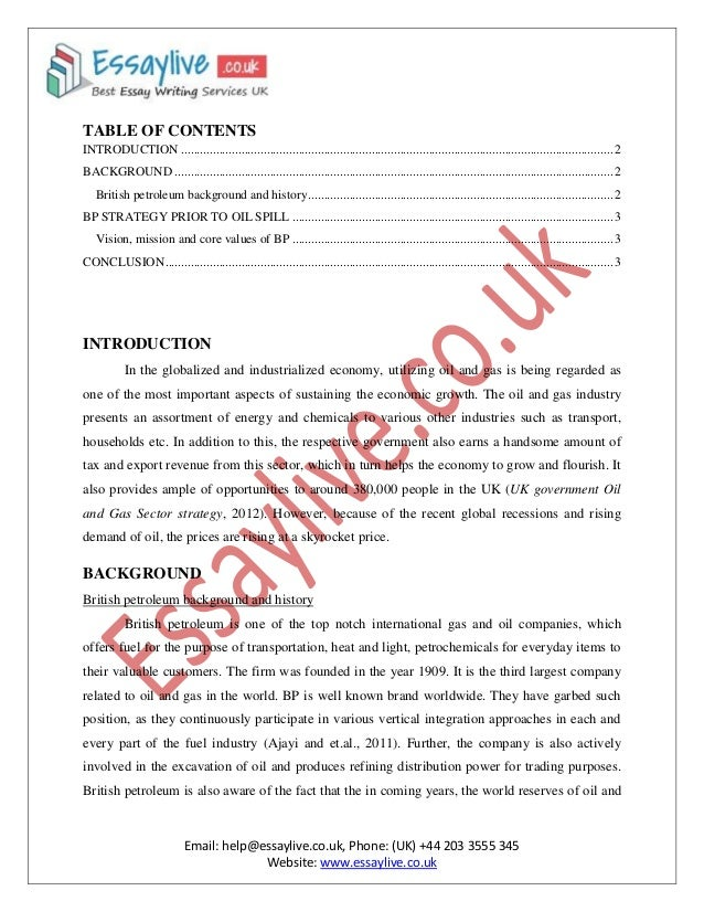 Oil and petroleum conservation essay kentucky