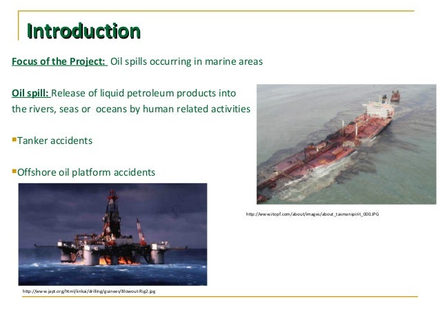 conclusion for oil spill project