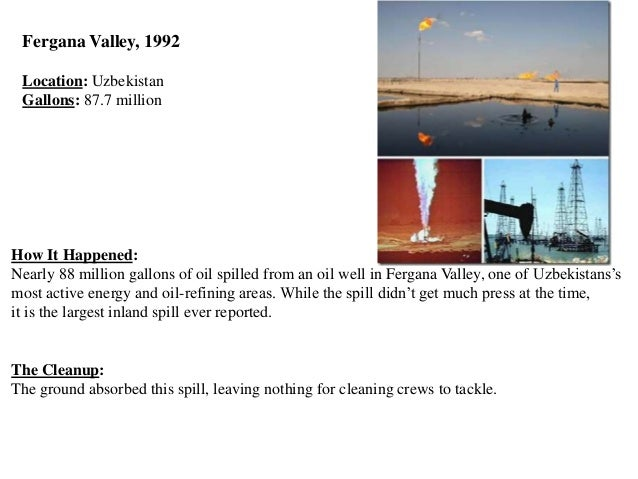 Oil spills and oil pollution