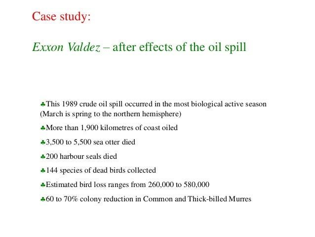 An Assessment of the Impact of the Exxon Valdez Oil Spill ...