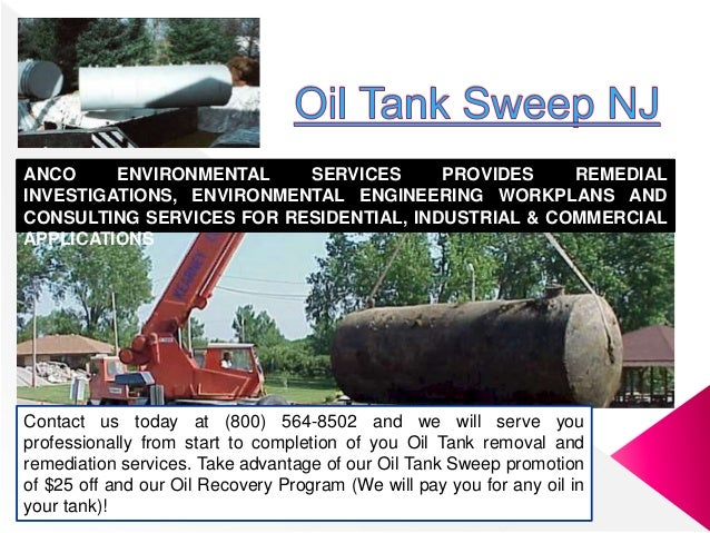 Contact us today at (800) 564-8502 and we will serve you professionally from start to completion of you Oil Tank removal a...