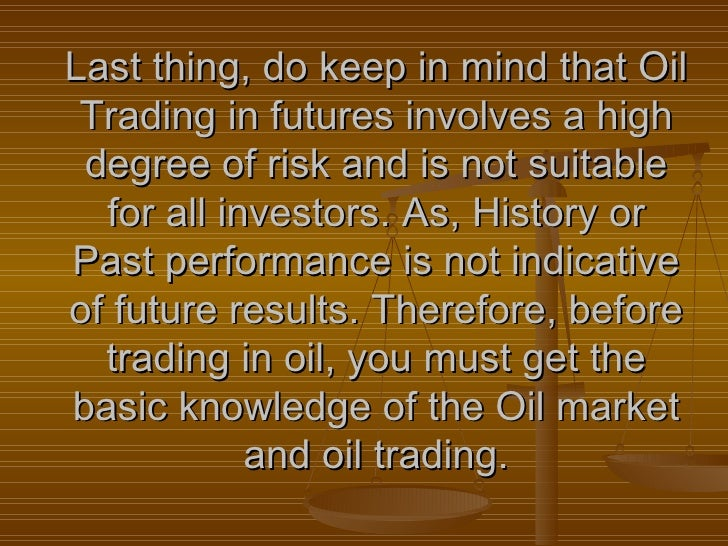 Understanding the Basics of Crude Oil Futures Trading