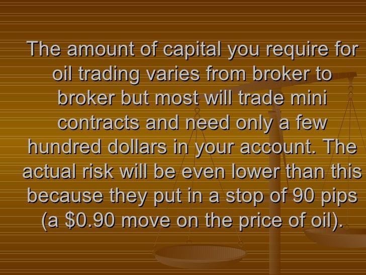 Crude Oil Futures Exchanges