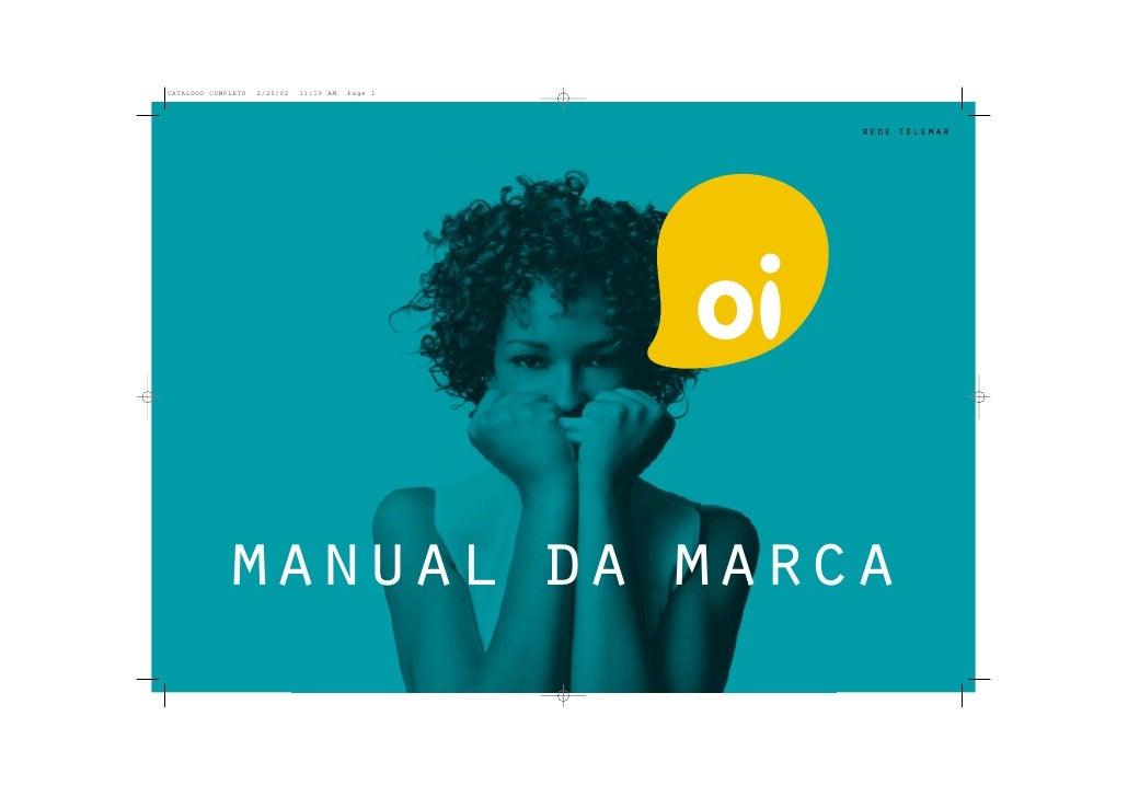 rede telemar     manual da marca