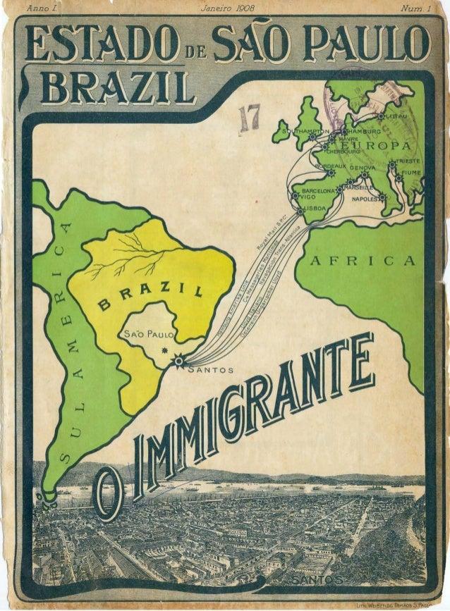 O imigrantes   revista