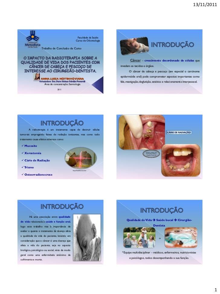 13/11/2011                                                        Faculdade da Saúde                                      ...