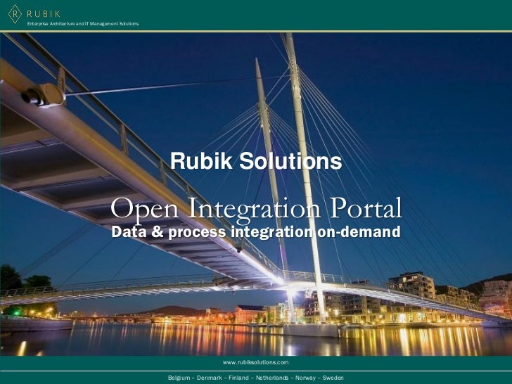 Enterprise Architecture and IT Management Solutions                                                      Rubik Solutions  ...