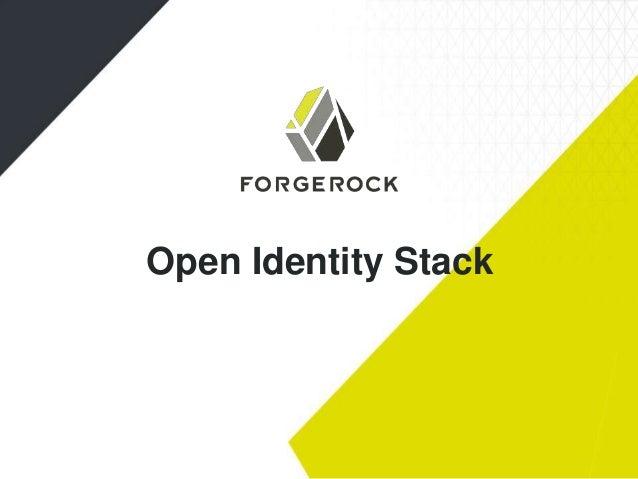 Open Identity Stack