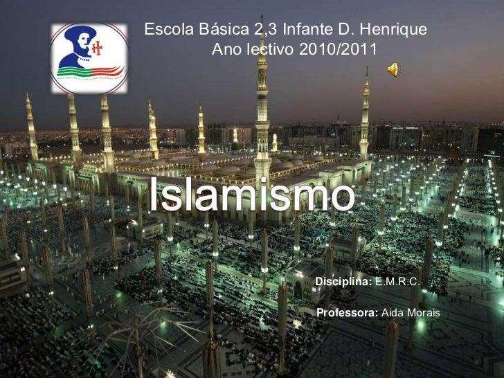 O islamismo e.m.r.c._