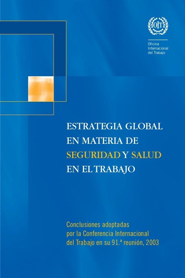 ISBN : 92-2-316287-4 Oficina Internacional del Trabajo 4, Route des Morillons CH-1211 Ginebra 22 Suiza Oficina Internacion...