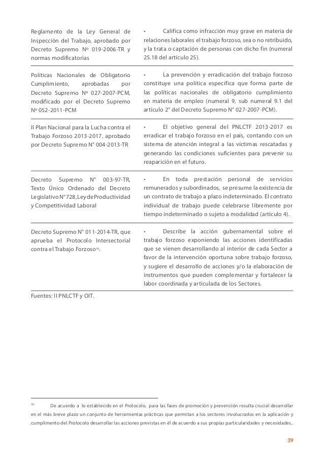 OIT - Trabajo Forzoso - Manual para los inspectores del trabajo de Pe…