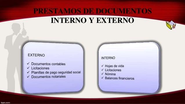 6 Control Y Prestamo De Documentos Al Cliente Interno Y
