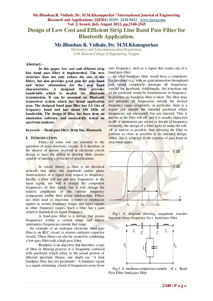 Mr.Bhushan R. Vidhale, Dr. M.M.Khanapurkar / International Journal of Engineering            Research and Applications (IJ...